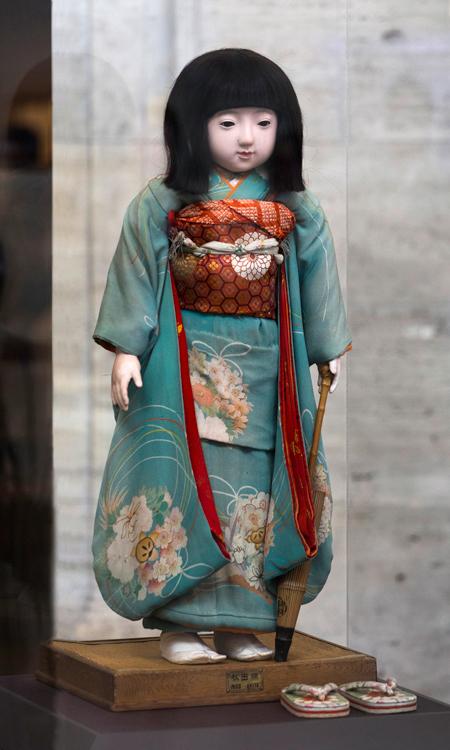 90年以上前にデトロイト児童博物館に日本から寄贈されていた「秋田蕗子(ふきこ)」