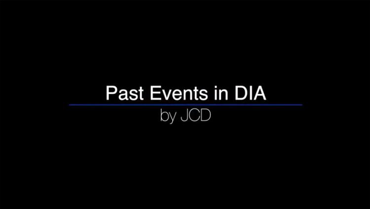 過去のJCDのイベントの模様をまとめた動画